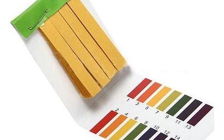 Lakmusové papírky pro identifikaci pH - 80 kusů - dodání do 2 dnů