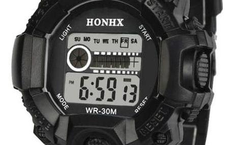Pánské digitální hodinky se stopkami