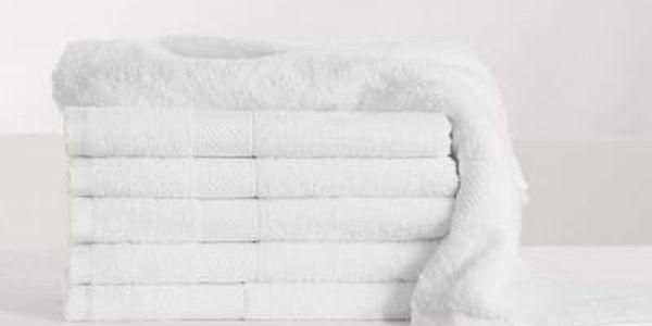 XPOSE ® Froté ručník DARIA - bílá 50x100 cm