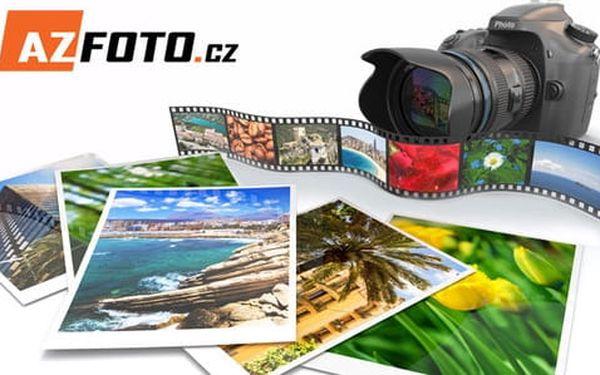 Tisk 10 velkoformátových fotografií, formát A4 nebo A3