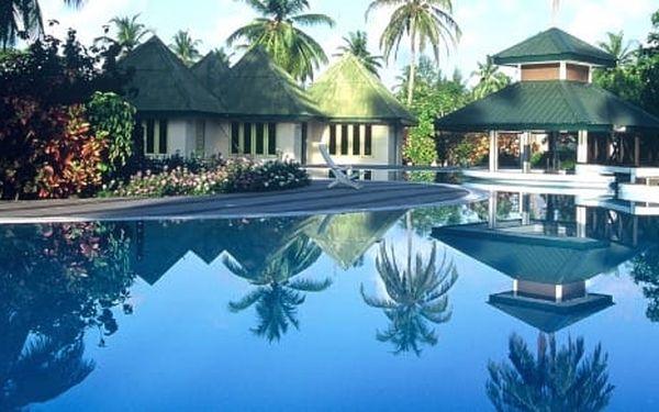 Maledivy - na 8 dní, polopenze nebo snídaně s dopravou letecky z Prahy