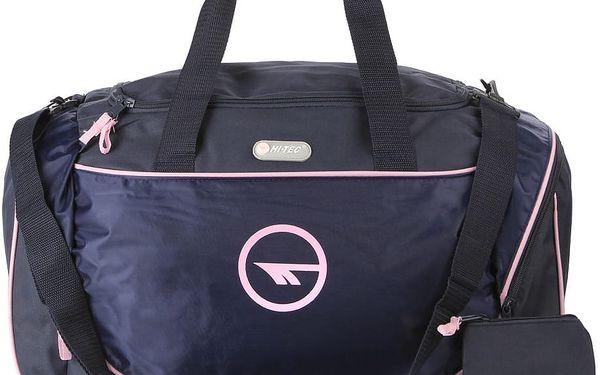 Unisex sportovní taška Hi-Tec medium s reflexními prvky