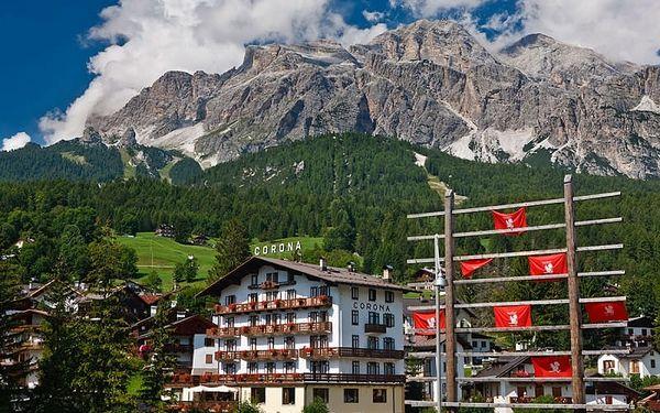 Itálie - Cortina d´Ampezzo na 11 dní, polopenze s dopravou vlastní