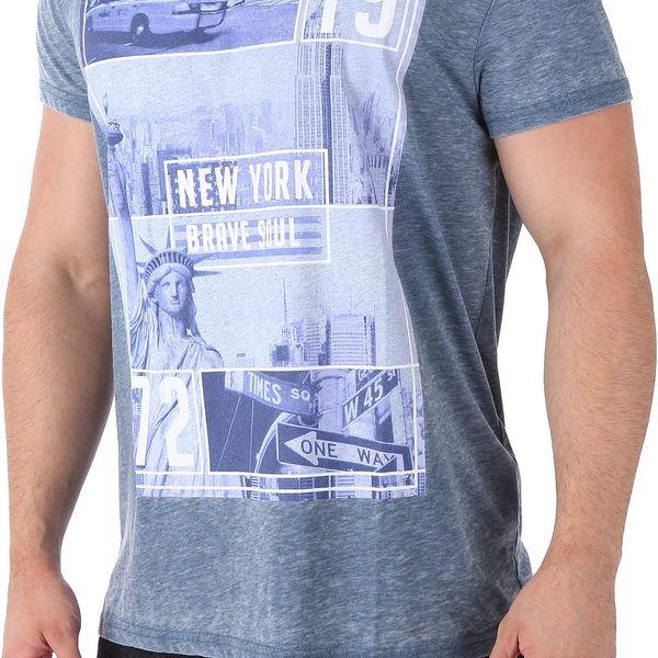 Pánské tričko s potiskem Brave Soul vel. M