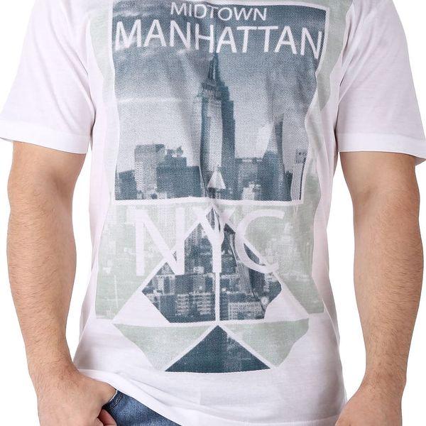 Pánské tričko s potiskem Cargo Bay vel. L