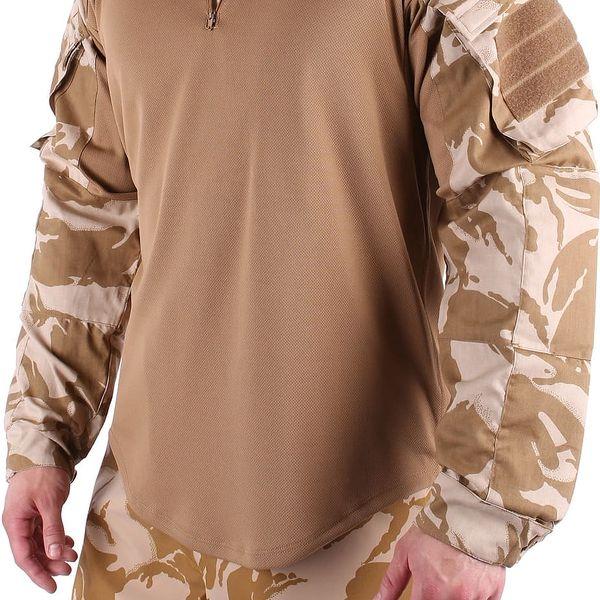 Taktické tričko britské armády vel. S