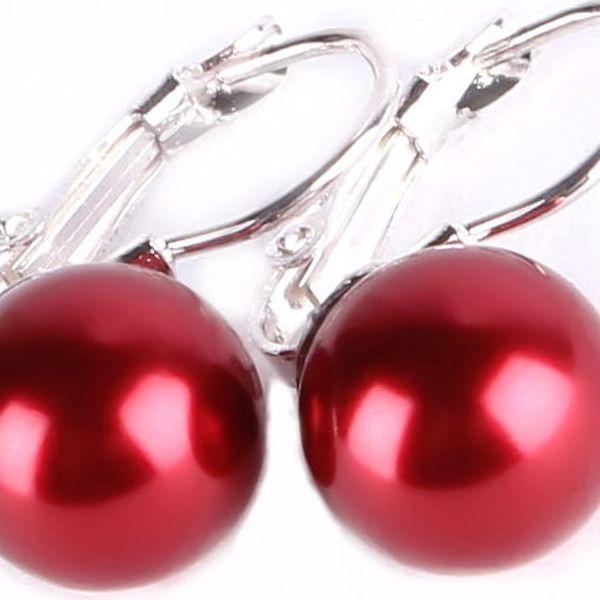Elegantní náušnice s perlou