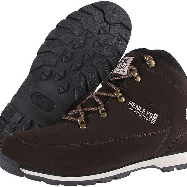 Pánská obuv Henleys Hiker Nubuck vel. EUR 44, UK 10