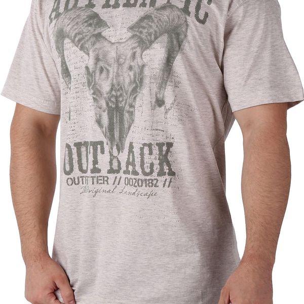Pánské tričko s potiskem Cargo Bay vel. M