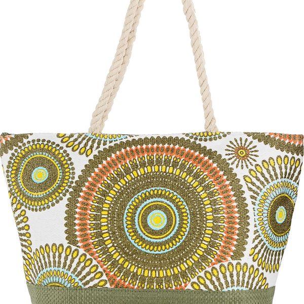 Dámská pletená taška mandala