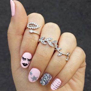 Sada tří romantických prstýnků