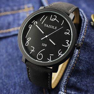 Pánské hodinky s velkým ciferníkem a čísly - dodání do 2 dnů