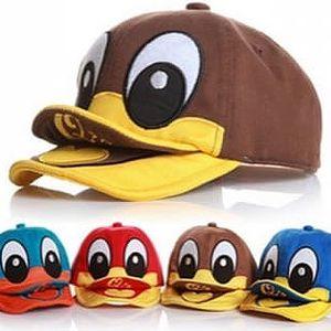 Dětská čepice ve tvaru kachny - poštovné zdarma