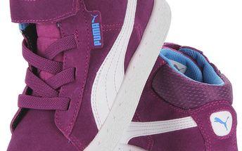 Dětská kotníková obuv Puma Mid V vel. EUR 34,5, UK 2