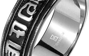 Prsten pro muže s ornamenty - 4 velikosti