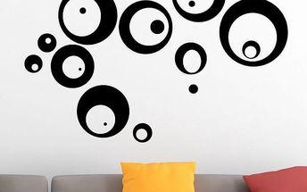 Samolepka na zeď - Bublinky