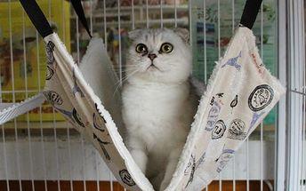 Závěsný pelíšek pro kočky - B