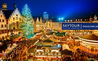 Německo, Norimberk: 1denní zájezd pro 1 osobu na adventní trhy s dopravou a průvodcem