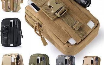Taktická outdoor taška na smartphone - poštovné zdarma