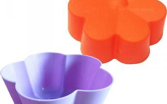 Silikonová forma na výrobu muffinů - 5 ks - poštovné zdarma