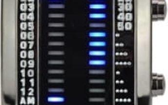 Binární hodinky s 28 LED diodami