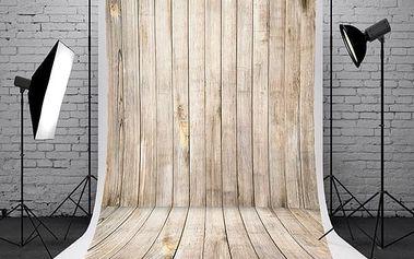 Fotopozadí do ateliéru - dřevěná místnost - 1,5 x 2,1 m - poštovné zdarma