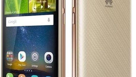 Huawei Y6 Pro Dual Sim (SP-Y6PRODSGOM) zlatý + dárek Paměťová karta Samsung Micro SDHC 16GB Class 10 - bez adaptéru (zdarma)+ dárek SIM s kreditem T-mobile 200Kč Twist Online Internet (zdarma) + Doprava zdarma