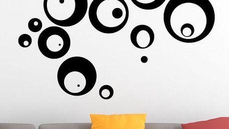 Samolepka na zeď - Bublinky - poštovné zdarma