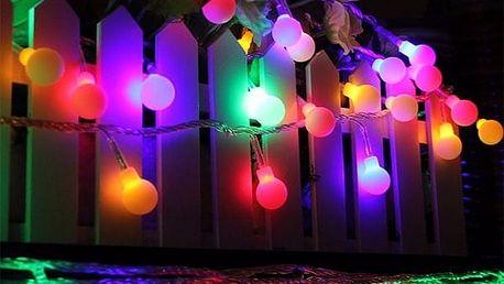 Vánoční LED světla na baterie - 30 ks (5 m) - poštovné zdarma
