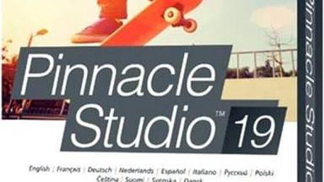 Pinnacle Studio 19 Standard CZ (PNST19STMLEU) + Doprava zdarma