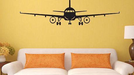 Samolepka na zeď - Letadlo - poštovné zdarma