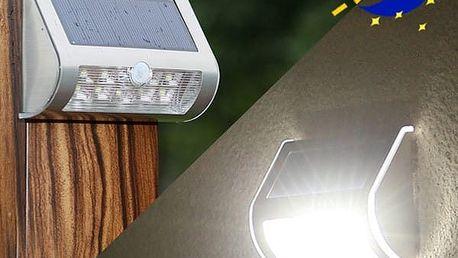 Venkovní LED svítidlo s pohybovým čidlem - poštovné zdarma