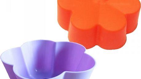 Silikonová forma na výrobu muffinů - 5 ks