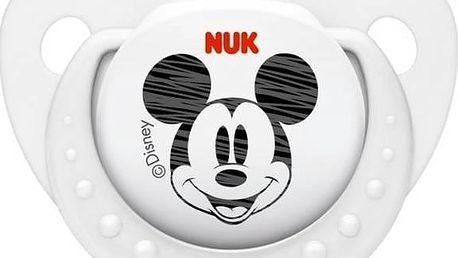 NUK Trendline Mickey 6-18m bílé