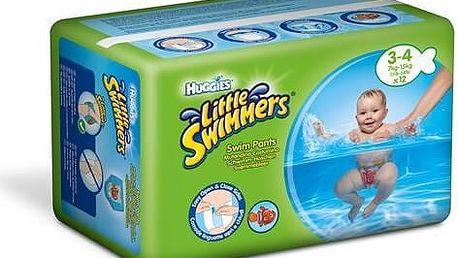 Huggies Little Swimmers vel. 3-4/7-15 kg 12 ks