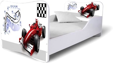 Dětská moderní postel Formule 1