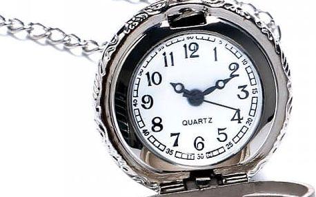 Kulaté pánské kapesní hodinky - poštovné zdarma