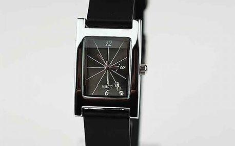 Unisex hodinky s obdélníkovým ciferníkem - Dámské