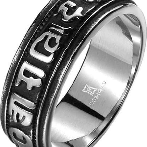 Prsten pro muže s ornamenty - 10