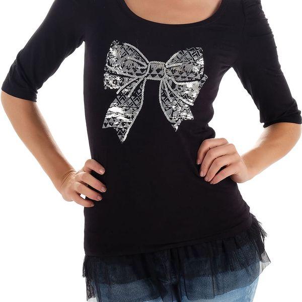 Dámské tričko / top s 3/4 rukávem Cache Cache vel. XL