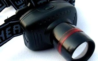 Malá LED čelní svítilna