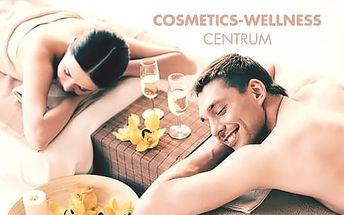 Romantická masáž pro dva na 60 min. včetně bahenního zábalu zad a občerstvení s lahví sektu
