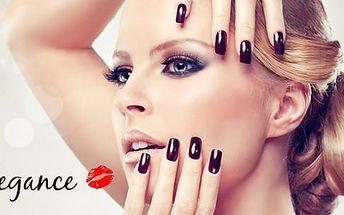 4hod. relaxační balíček péče pro ženy. Kosmetika, manikúra a pedikúra a kadeřnické služby