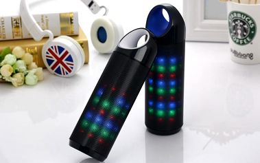 Mini reproduktor se světelnými LED efekty DS608