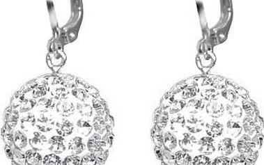 Vyhledávaný šperk - Set šperků Crystal Ball z broušených malých krystalků.