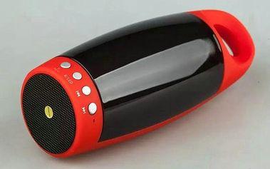 Přenosný LED stereo reproduktor W2