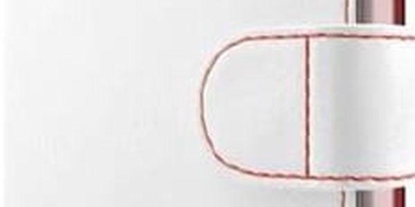 Pouzdro na mobil flipové FIXED FIT pro Sony Xperia E5 (FIXFIT-119-WH) bílé
