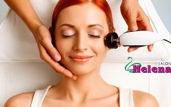 60min. luxusní kosmetické ošetření pleti s olivovým olejem + diamantovová mikrodermabraze
