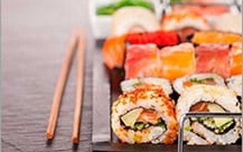 Luxusní SUSHI menu až pro 4 osoby se slevou 59%! Přivítejte podzim s exotickou delikatesou!