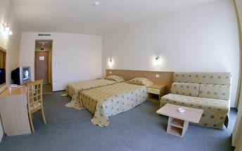 Kalofer Hotel, Bulharsko, Černomořské pobřeží, 8 dní, Letecky, Polopenze, Alespoň 3 ★★★, sleva 0 %, bonus (Levné parkování u letiště: 8 dní 499,- | 12 dní 749,- | 16 dní 899,- , Rezervace zájezdu za 2 000 Kč/os)